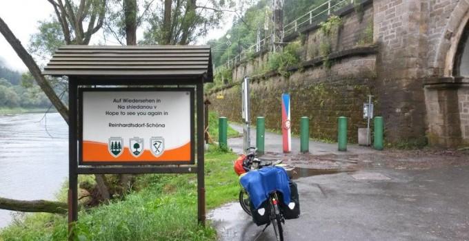 Grenzübergang Tschechei