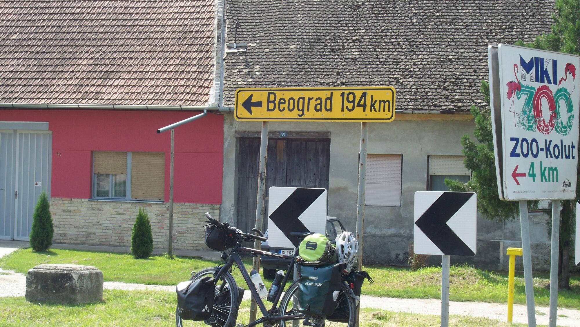 Grenze Serbien