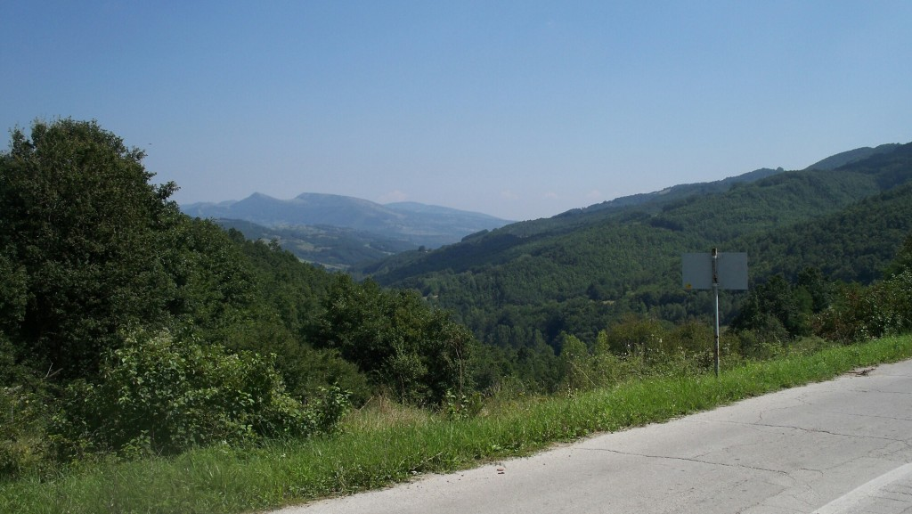 Aussicht-Knjaževac-Pirot