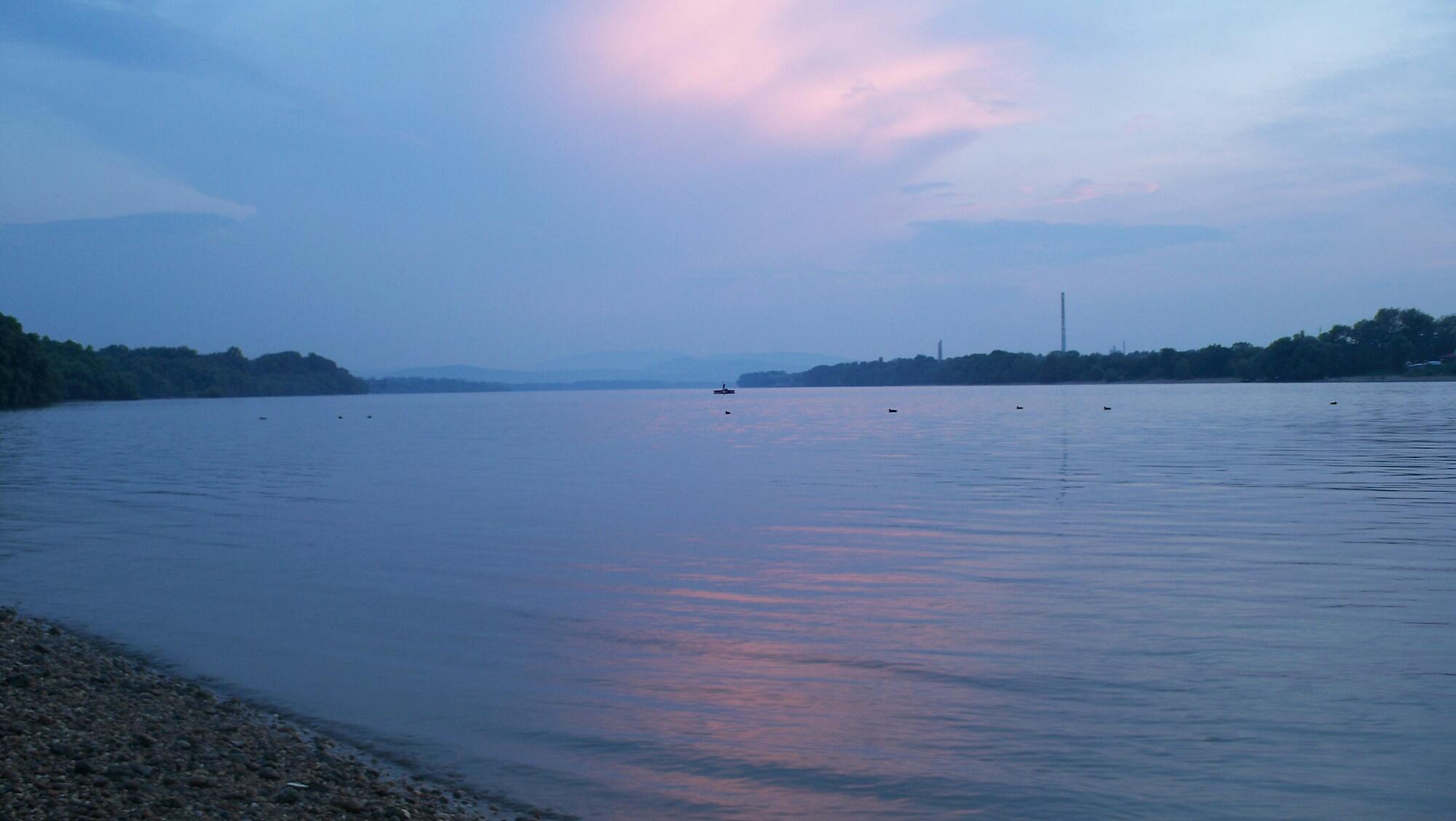Sonnenuntergang Esztergom1_resized
